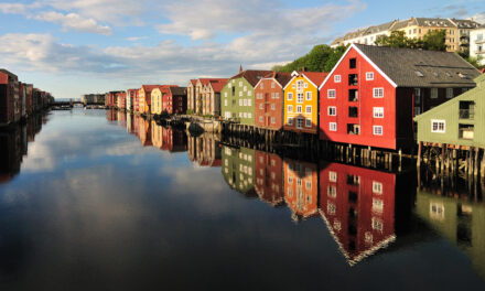 Trondheim, tierra de vikingos