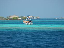 Islas del Rosario, en la costa colombiana