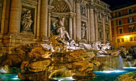 La monumental Fontana di Trevi