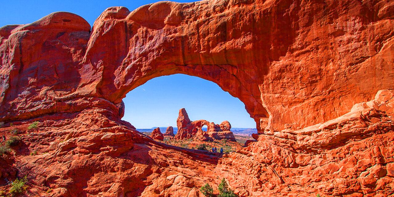 El impresionante Parque Nacional Arches, en Utah