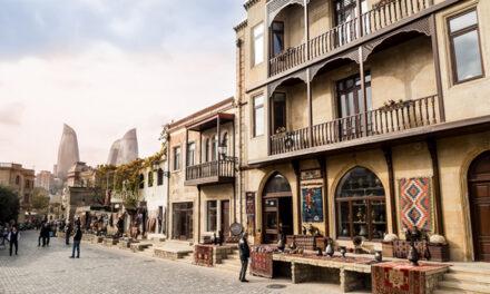 Bakú, pasado y presente unidos en Azerbaiyán