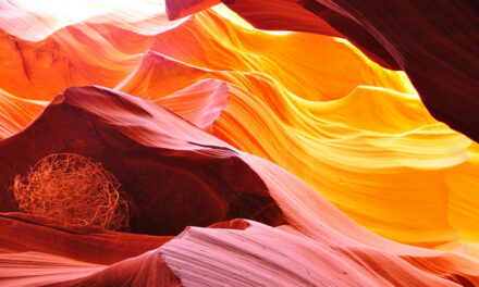 El espectacular cañón Antelope, Arizona