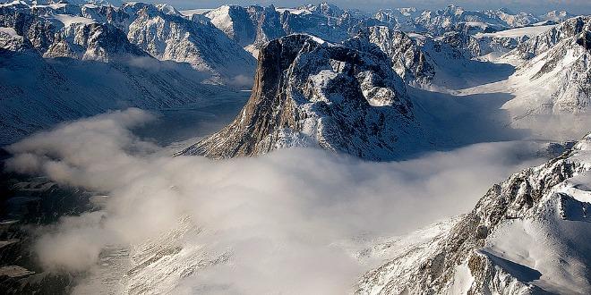 Fiordos y montañas de Groenlandia