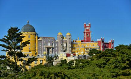 El espectacular Palacio de Pena, Portugal