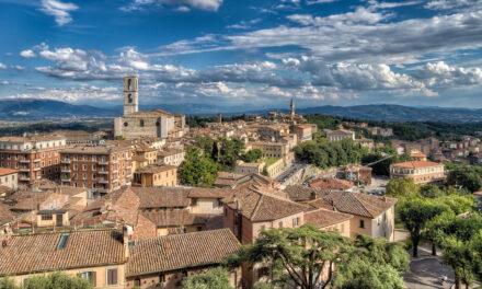 La bella Perugia y sus cuestas medievales