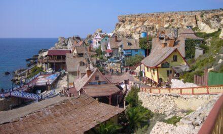 Popeye Village, parque de cine en Malta