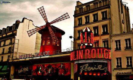 El mítico Moulin Rouge de París