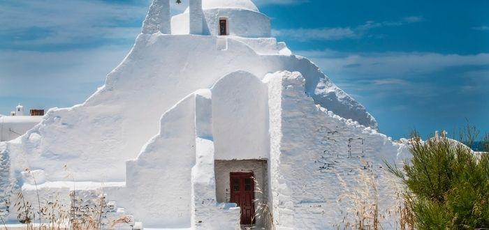 Iglesia de Panagia Paraportiani | Que ver en Mykonos