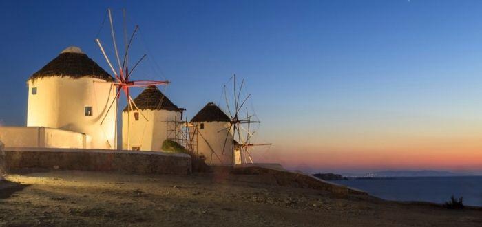 Molinos de viento de Kato Milli