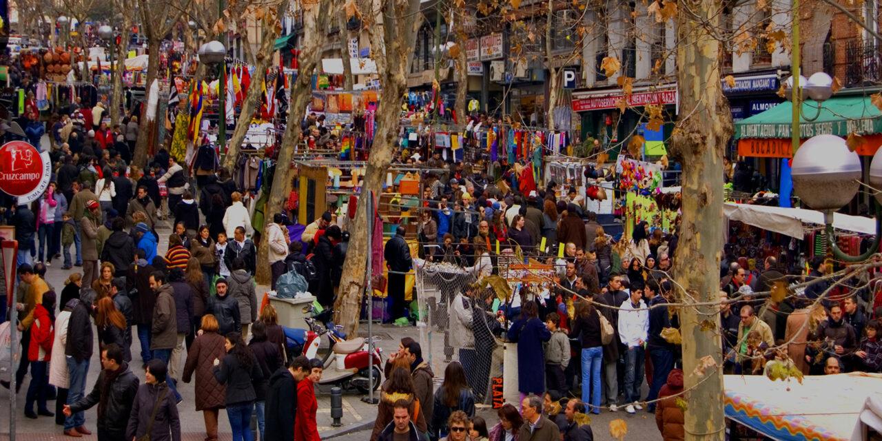 El rastro de Madrid, ¡nos vamos de compras!