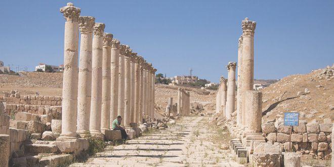 Avenida de las columnas