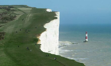 Beachy Head Cliff, el fantástico acantilado blanco