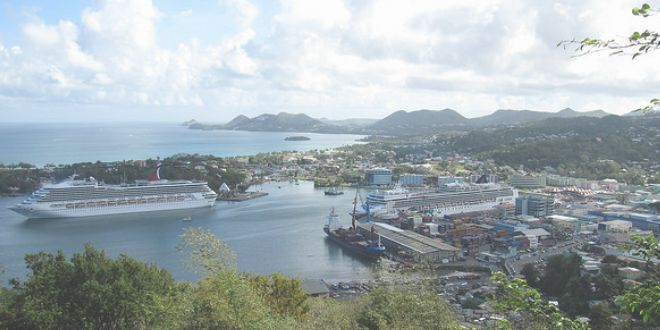 Castries Port