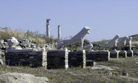 Delos, la isla sagrada de Grecia