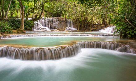 Las cascadas de Kuang Si, idílicas y divertidas