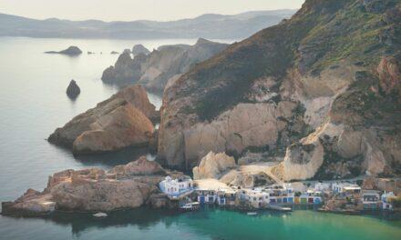 Sorprendentes vacaciones en Milos
