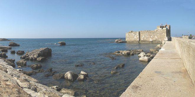 Puerto viejo de Biblos
