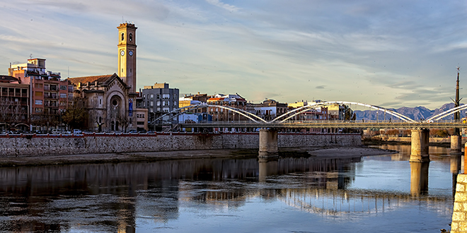 Río Ebro, Tortosa