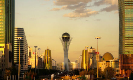 Astana, la ciudad futurista de…Kazajistán