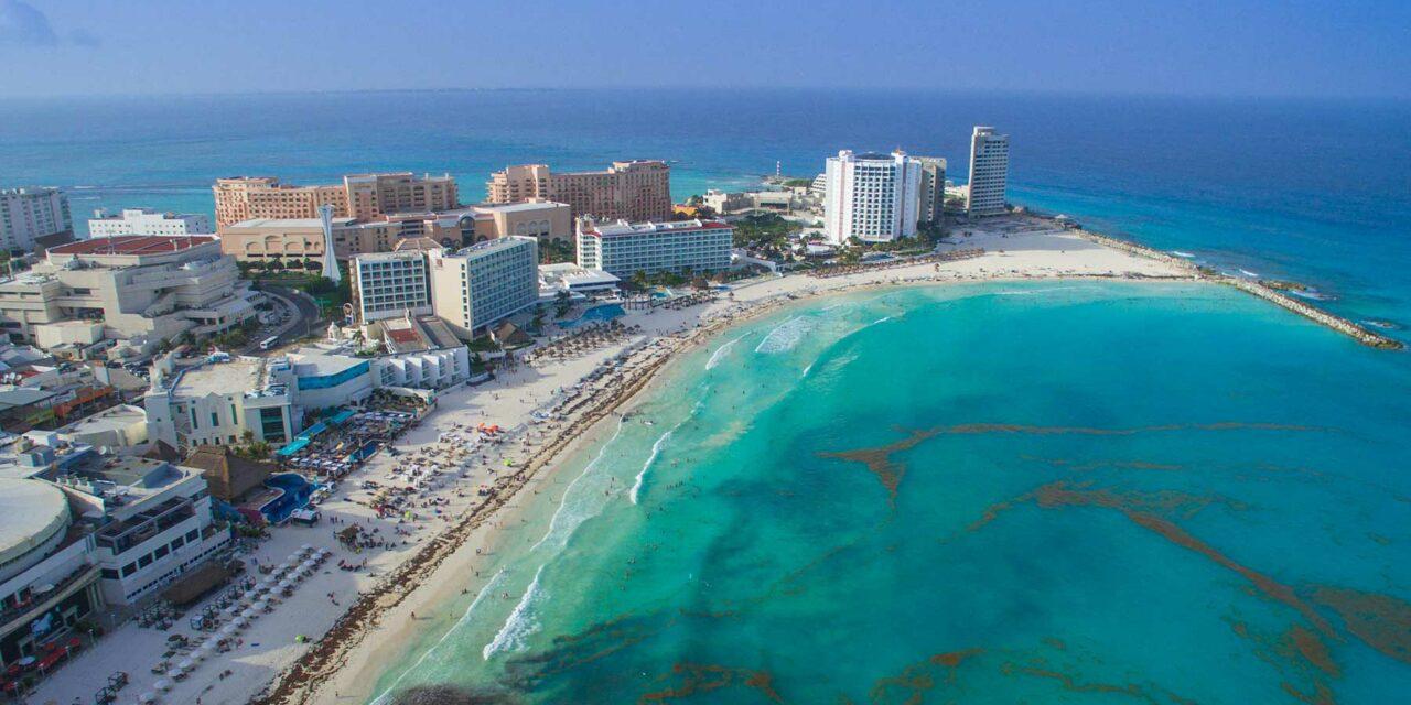 Cancún, la costa azul caribeña
