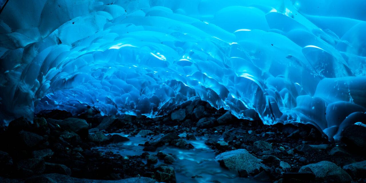 Las cuevas de Hielo de Alaska