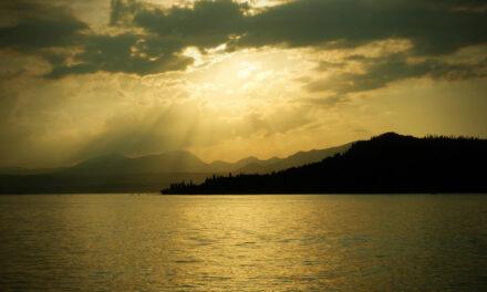 El lago de Garda, exilio para escritores