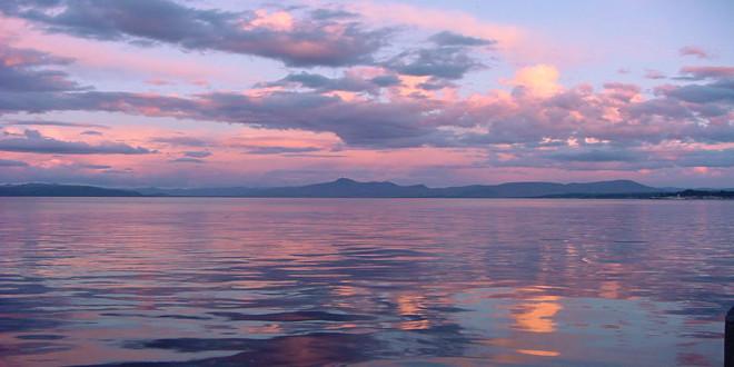 El camino de los 7 lagos en Argentina