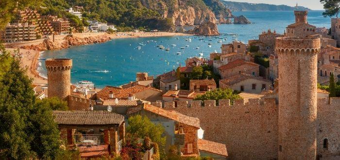 Costa Brava, España | Lugares para luna de miel