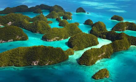 La mágica formación de las Islas The Rock