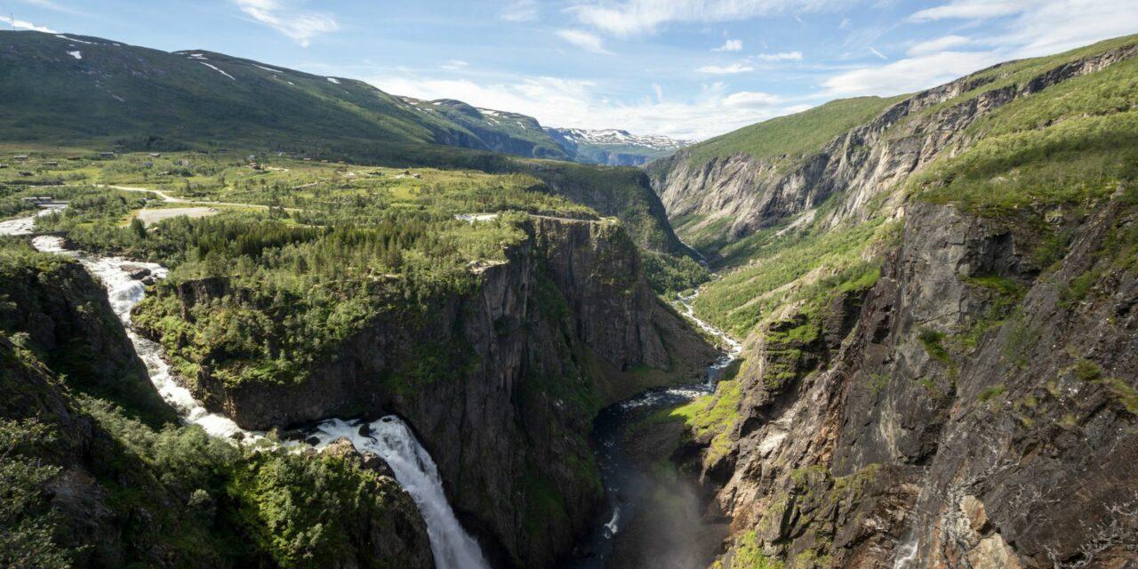 El Valle de Måbødalen, una pintura perfecta