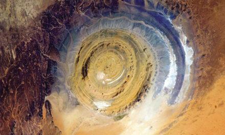 Estructura Richat: El ojo del Sahara