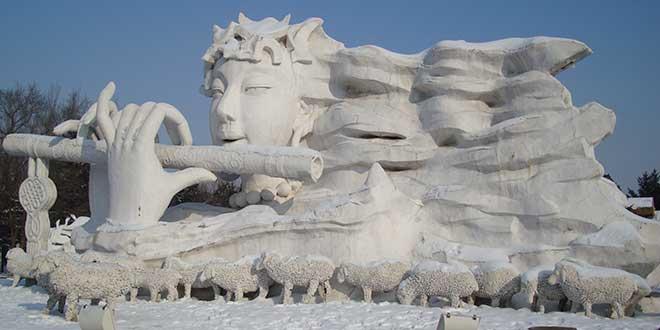 Esculturas en Harbin
