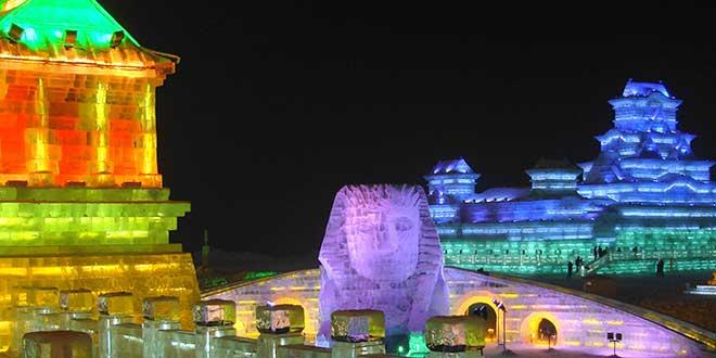 Harbin nocturno
