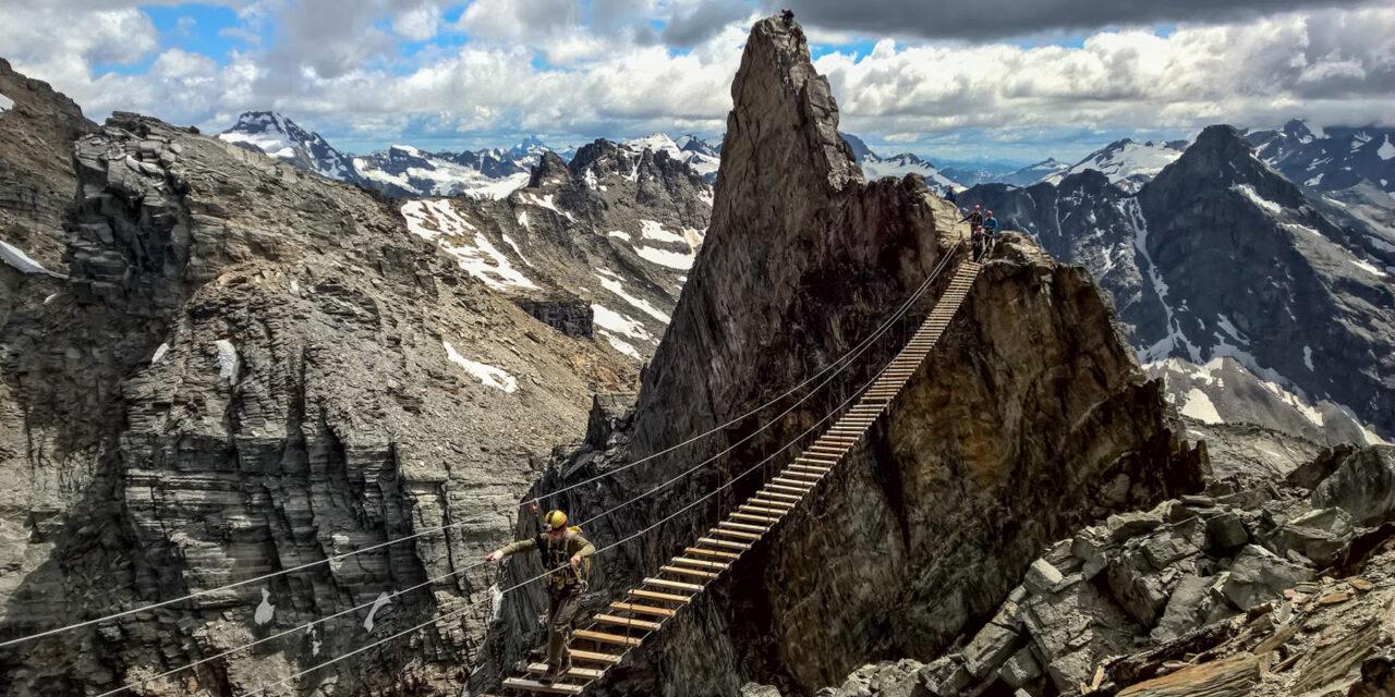 ¡Camina en el aire en el Monte Nimbus!