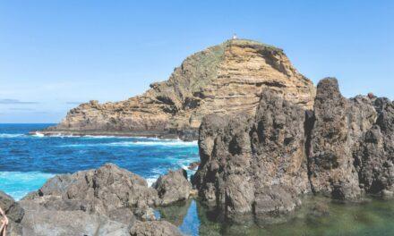 Las increibles piscinas de lava de Porto Moniz