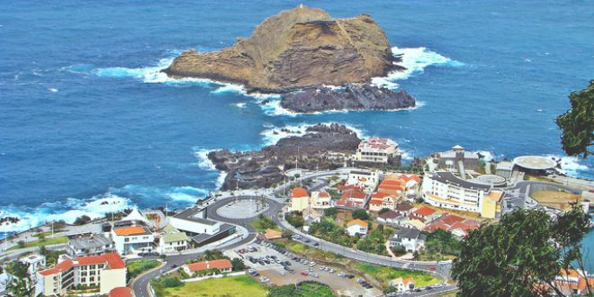 Porto Moniz panoramica