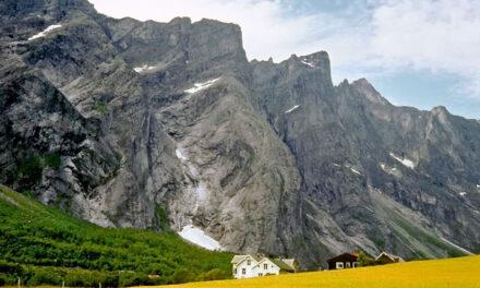 Romsdal y los trolls de piedra