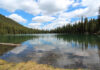 7 lagos canadienses con efecto espejo
