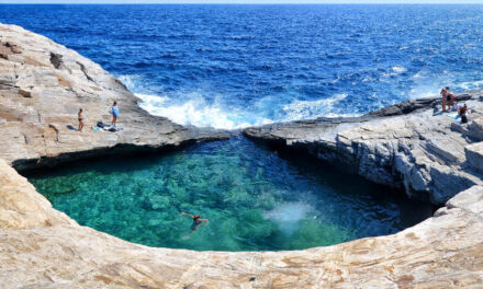 Giola, el ojo del Egeo