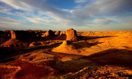Desierto Moguicheng, la ciudad del diablo