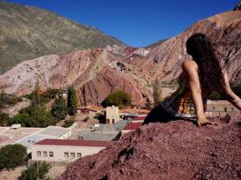 El cerro de los siete colores Jujuy