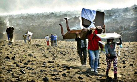 El pueblo que estaba dentro de un volcán en Brasil
