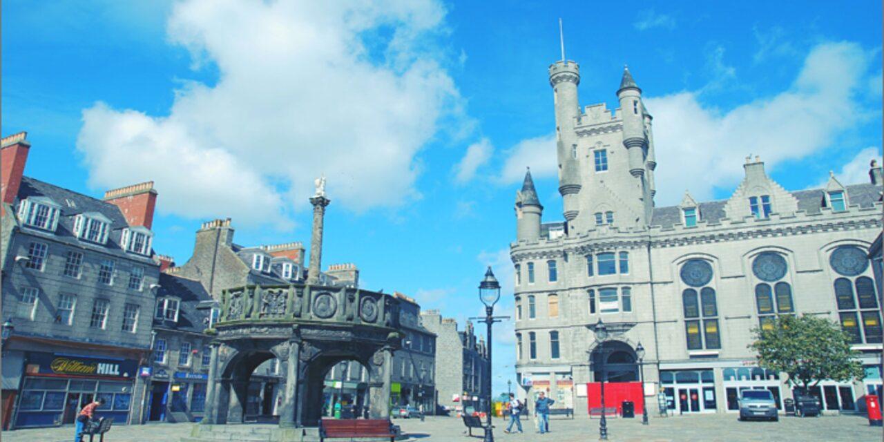 La Ciudad de Granito en Escocia