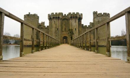Bodiam, un castillo diseñado para la vista, no para los ataques
