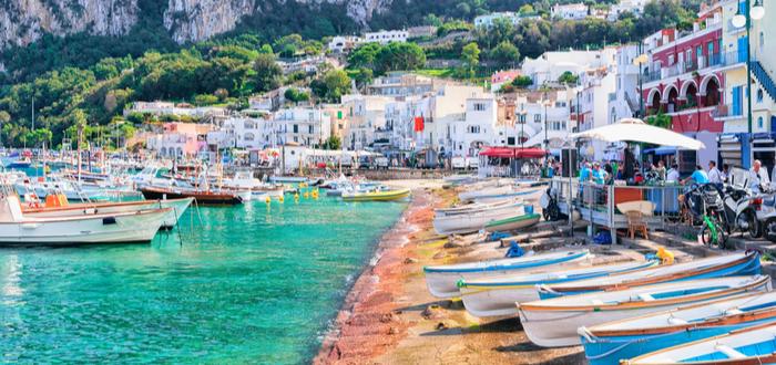 Los 10 pueblos de Italia más bonitos. Capri