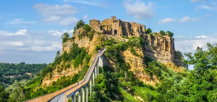 Los 10 pueblos de Italia más bonitos. Civita di Bagnoregio