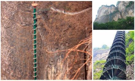 Las asombrosas escaleras de Taihang