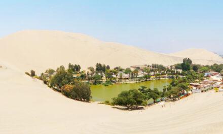 Huacachina, un auténtico oasis del desierto