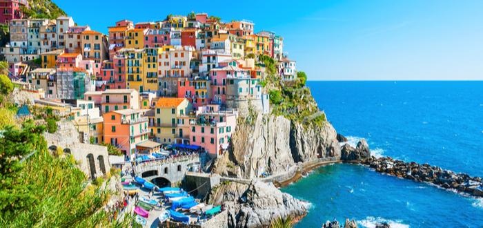 Los 10 pueblos de Italia más bonitos. Manarola