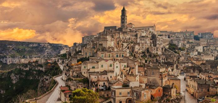 Los 10 pueblos de Italia más bonitos. Matera